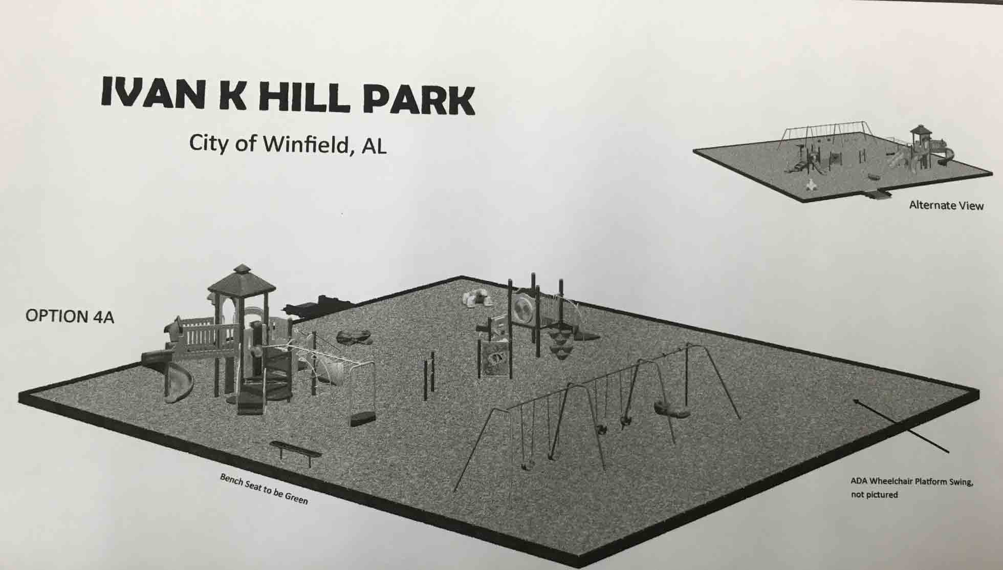 Diagram of New Playground